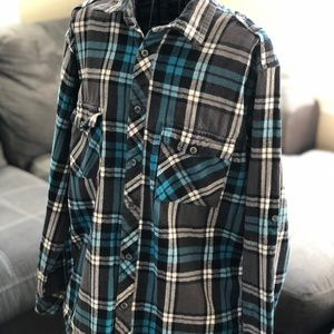 Men's SubCulture Flannel Long Sleeve